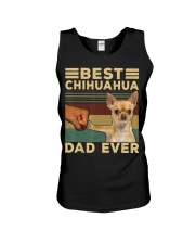 Best Chihuahua vintage dad ever T-Shirt Unisex Tank thumbnail