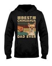Best Chihuahua vintage dad ever T-Shirt Hooded Sweatshirt thumbnail