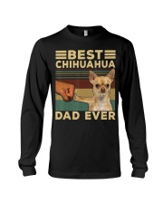 Best Chihuahua vintage dad ever T-Shirt Long Sleeve Tee thumbnail