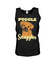 Puggle Pug Beagle Dog Snuggles Funny Cute  Unisex Tank thumbnail