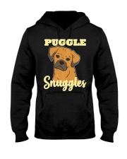 Puggle Pug Beagle Dog Snuggles Funny Cute  Hooded Sweatshirt thumbnail