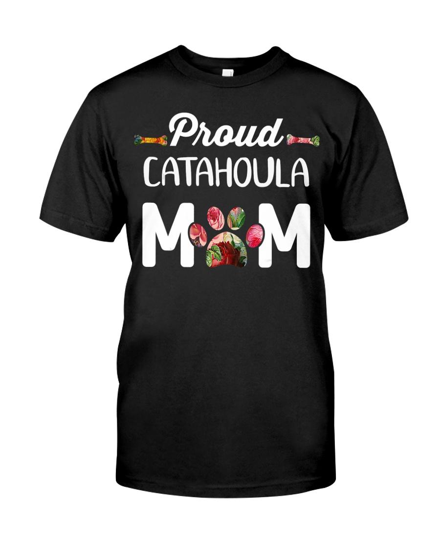 Womens Funny Catahoula Leop Classic T-Shirt