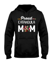 Womens Funny Catahoula Leop Hooded Sweatshirt thumbnail