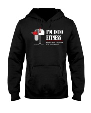 Funny Mail Carrier I'm Into Fitness Mailma Hooded Sweatshirt thumbnail