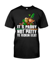 Its Paddy Not Patty Ye Feckin Eejit St Premium Fit Mens Tee thumbnail