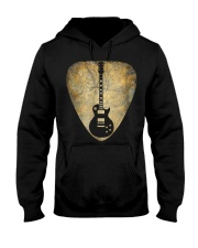 Vintage Guitar Pick New T Shirts Gifts Guitar Hooded Sweatshirt tile