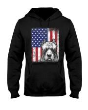 Pitbull American Flag Shirt USA Patriotic D Hooded Sweatshirt thumbnail