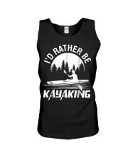 I'd Rather Be Kayaking shirt Fun Unisex Tank thumbnail