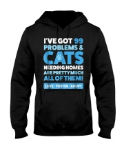 Cat Rescue Shirt  Animal Rescue TShirt Cat A Hooded Sweatshirt tile