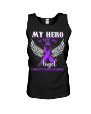 My Hero Is Now My Angel Pancreatic  Unisex Tank thumbnail