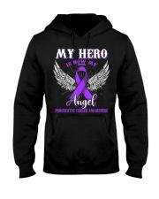 My Hero Is Now My Angel Pancreatic  Hooded Sweatshirt thumbnail