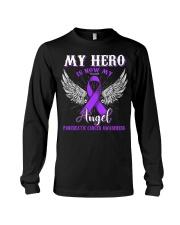 My Hero Is Now My Angel Pancreatic  Long Sleeve Tee thumbnail