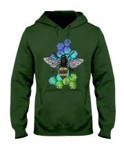 Honey Bee Beekeeping Shirt Vint Hooded Sweatshirt front