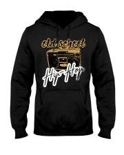 Old School Hip-Hop with Retro Radio Ghettobla Hooded Sweatshirt thumbnail