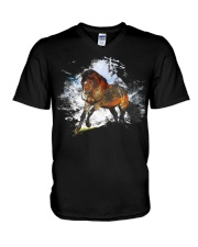 Beautiful Arabian Horse T-Shirt V-Neck T-Shirt thumbnail