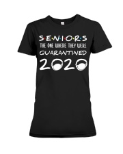 Seniors The One Where They Were Quarantined Premium Fit Ladies Tee thumbnail