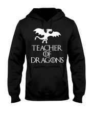 Teacher Of Dragons T-Shirt Halloween Funny Co Hooded Sweatshirt thumbnail