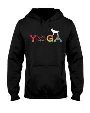 Womens Yoga Goat Farming-Goat Yoga L Hooded Sweatshirt thumbnail