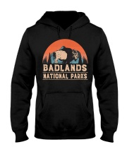 Vintage Badlands National Park T shi Hooded Sweatshirt thumbnail