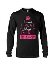 Basketball Shirt -Girls Basketball Gift- P Long Sleeve Tee thumbnail