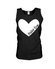 Foster Love Foster Care Parent Heart Gift  Unisex Tank thumbnail