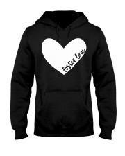 Foster Love Foster Care Parent Heart Gift  Hooded Sweatshirt thumbnail
