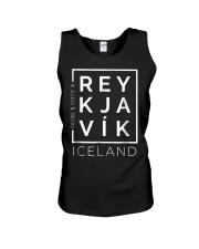 Stylish Reykjavik Iceland City Coordinates So Unisex Tank thumbnail