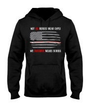 Nurses Not All Heroes Wear Capes My Daugh Hooded Sweatshirt thumbnail