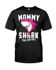 Mommy Shark T Shirt Mother Grandma Hallo Premium Fit Mens Tee tile