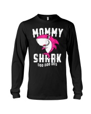 Mommy Shark T Shirt Mother Grandma Hallo Long Sleeve Tee tile