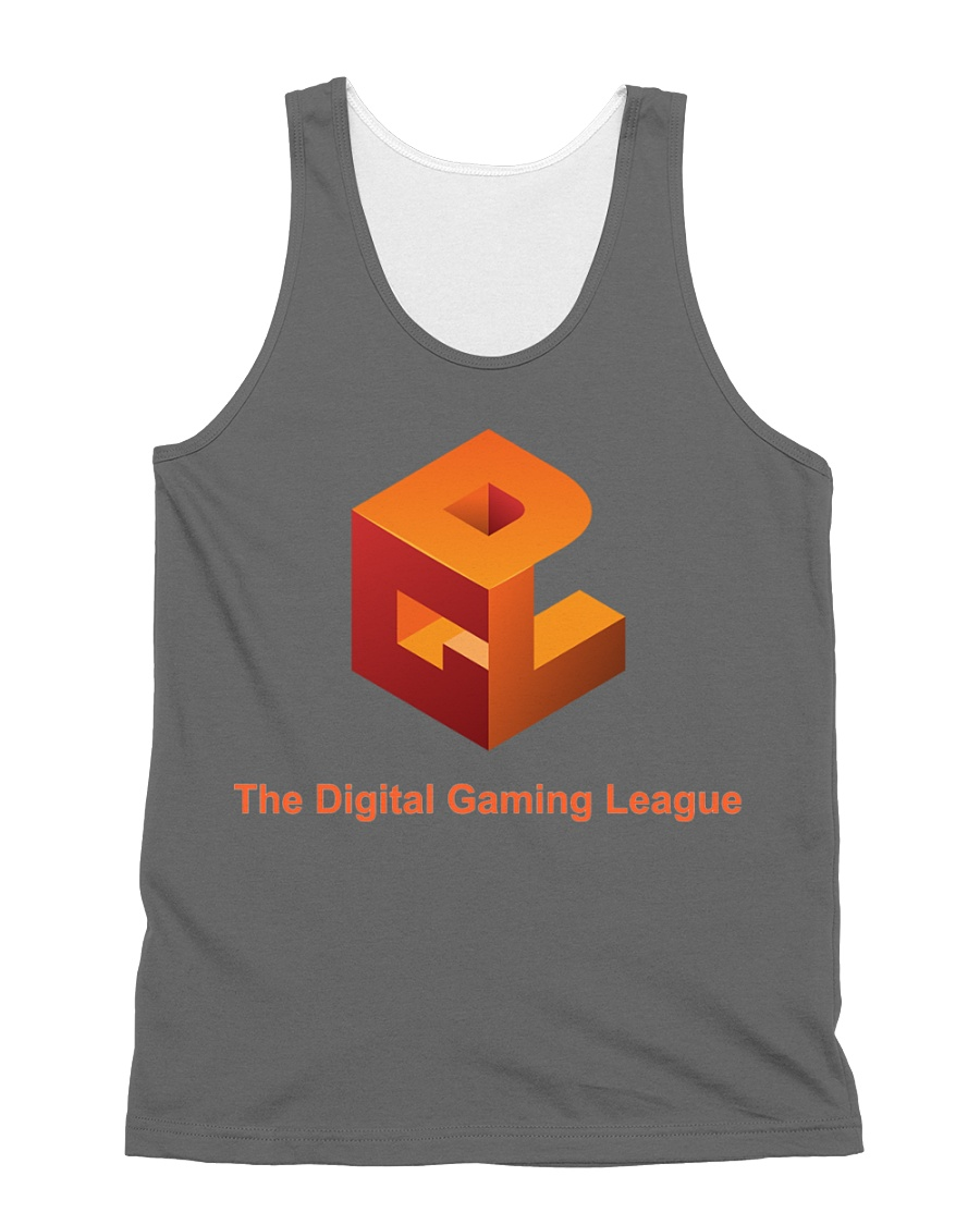 The Digital Gaming League All-over Unisex Tank