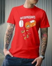 Anti depresent Fishing Classic T-Shirt lifestyle-mens-crewneck-front-6