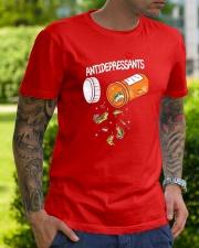 Anti depresent Fishing Classic T-Shirt lifestyle-mens-crewneck-front-7