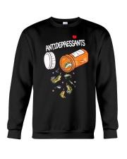 Anti depresent Fishing Crewneck Sweatshirt thumbnail