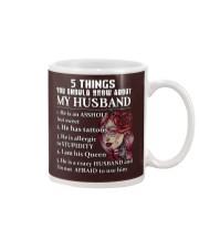 5 THINGS ABOUT MY HUSBAND Mug thumbnail