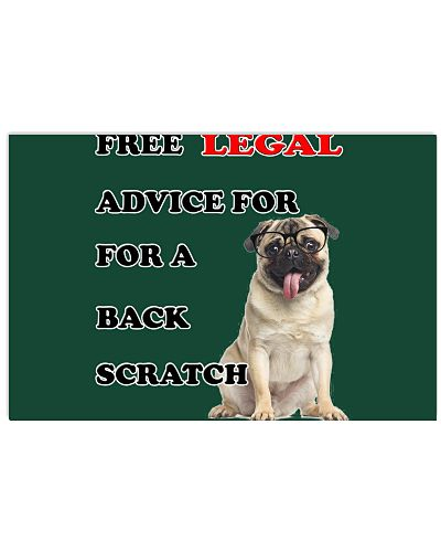 Legal advice for a back scratch