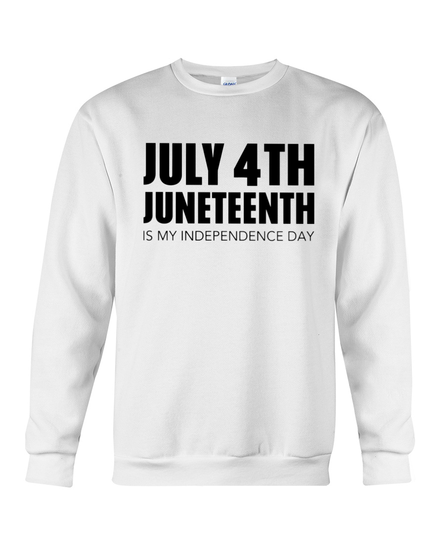 July 4Th Juneteenth Is My Independence Day Hoodie