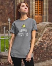 Don't tread on my video games bro Classic T-Shirt apparel-classic-tshirt-lifestyle-06
