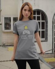 Don't tread on my video games bro Classic T-Shirt apparel-classic-tshirt-lifestyle-19