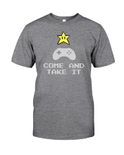 Don't tread on my video games bro Classic T-Shirt front