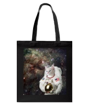 Catstronaut in Space Tote Bag thumbnail