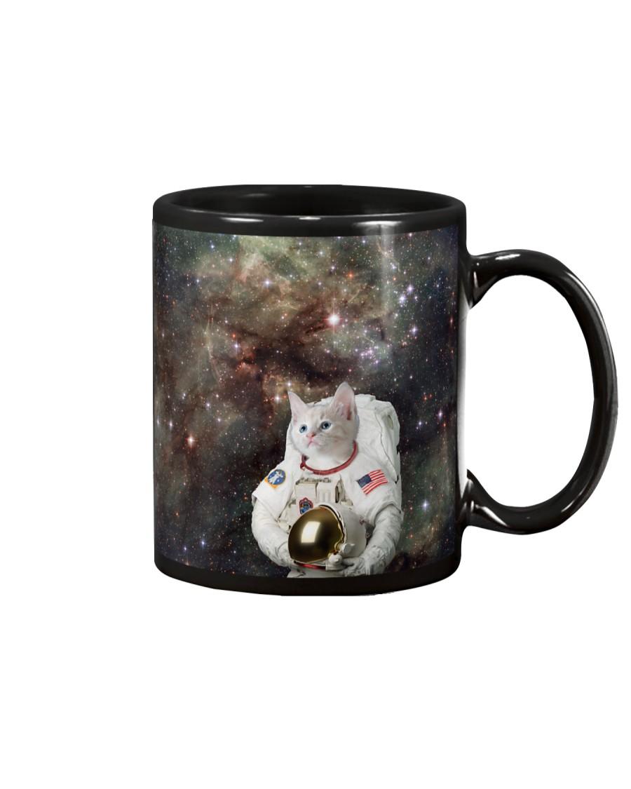 Catstronaut in Space Mug