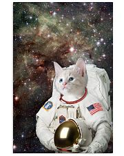 Catstronaut in Space Vertical Poster tile