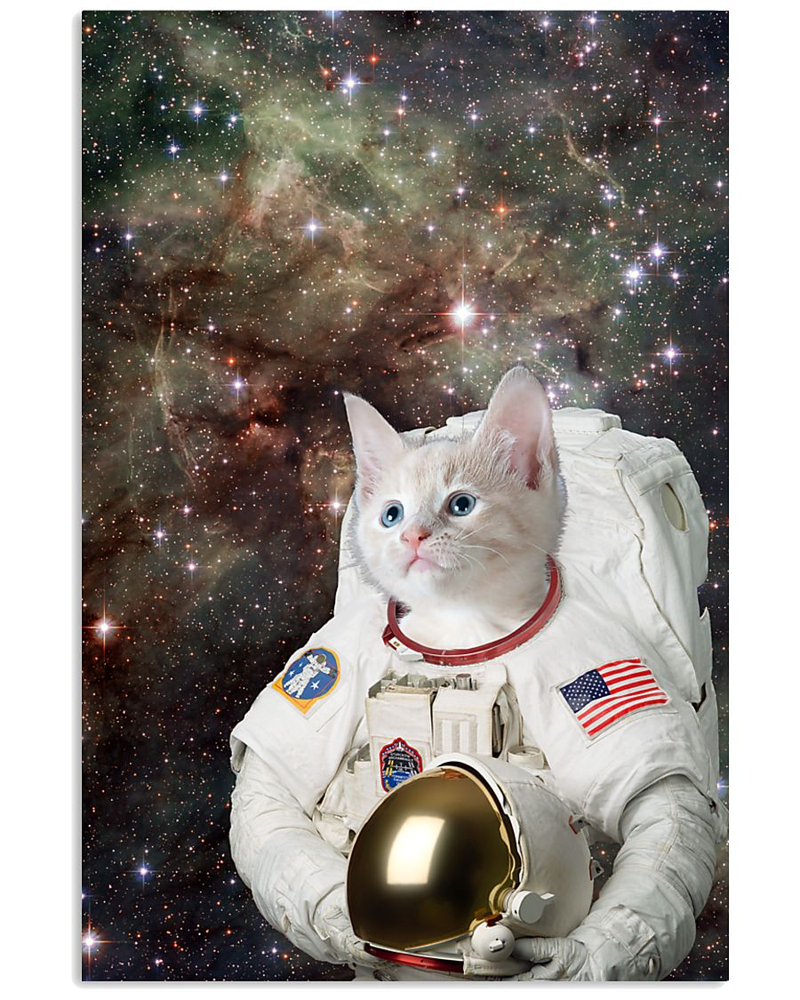 Catstronaut in Space 16x24 Poster