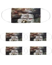 Catstronaut in Space Cloth Face Mask - 5 Pack front
