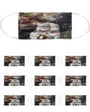 Catstronaut in Space Cloth Face Mask - 10 Pack front
