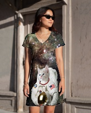 Catstronaut in Space All-over Dress aos-dress-front-lifestyle-1