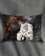 Catstronaut in Space Rectangular Pillowcase aos-pillow-rectangle-front-lifestyle-1