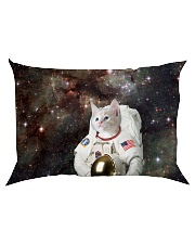 Catstronaut in Space Rectangular Pillowcase back