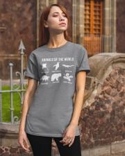 Trash Panda - Danger Noodle - Murder Log Shirt Classic T-Shirt apparel-classic-tshirt-lifestyle-06